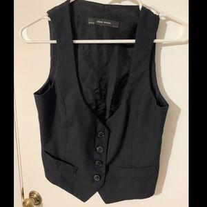 Zara basic crop vest